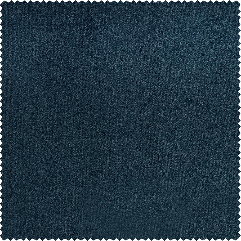 Avalon Blue Plush Velvet Swatch