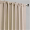 Pole Pocket Eggnog Blackout Curtain