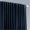Navy Blue Extra Wide Blackout Curtain