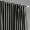 Anthracite Grey Extra Wide Blackout Curtain
