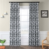 Sweet Pea Grey Blackout Curtain