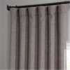 Mink Faux Linen Blackout Curtain