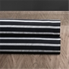 Black And Silver Casual Cotton Fabric