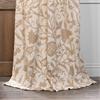 Celine Cream Embroidered Cotton Crewel Curtain