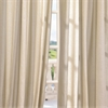 Del Mar Stone Linen Blend Stripe