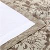 Astoria Bronze & Taupe Faux Silk Jacquard Curtain