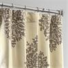 Ellaria Silver Dew Faux Silk Jacquard Curtain