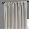 Fresh Khaki French Linen Curtain