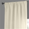 Ancient Ivory French Linen Curtain