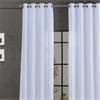 Ice Grommet Blackout Vintage Textured Faux Dupioni Silk Curtain