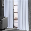 Ice Blackout Vintage Textured Faux Dupioni Curtain