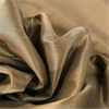Flax Gold Grommet Blackout Vintage Textured Faux Dupioni Silk Curtain