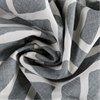 Martinique Grey Printed Cotton Fabric