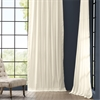 Fresh Popcorn Solid Cotton Curtain