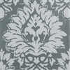 Lacuna Grey Printed Cotton Twill Fabric