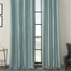 Robin's Egg Grommet Blackout Faux Silk Taffeta Curtain