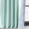 Robins Egg Blackout Faux Silk Taffeta Curtain