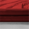 Banded Syrah Faux Silk Taffeta & Maroon Cotton Velvet Curtains