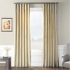 Riviera Faux Silk Taffeta Stripe Curtain