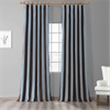Crockett Faux Silk Taffeta Stripe