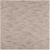 Open Weave Cinder Grey Linen Sheer Swatch