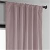 Ballet Pink Plush Velvet Curtain