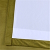 Retro Green Plush Velvet Curtain