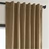 Spiced Rum Plush Velvet Curtain