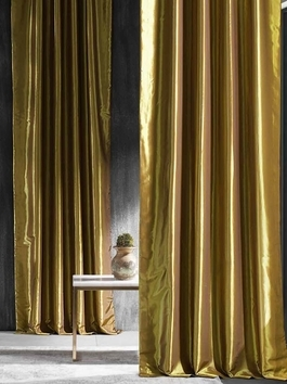Blackout Faux Silk Taffeta Curtains