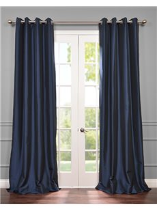 Blackout Grommet Faux Silk Taffeta Curtains