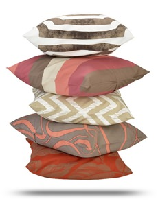 Printed Cotton Twill Cushion Covers