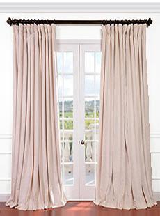 Signature Double Wide Velvet Blackout Curtains