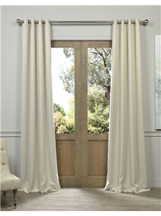 Solid Grommet Blackout Curtains