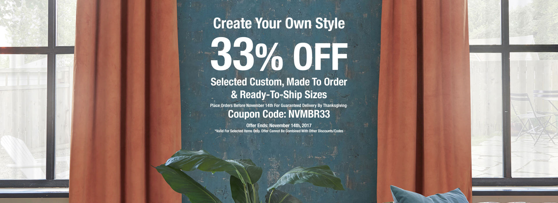 Fall Sale! Take 55% Off On Selected Items