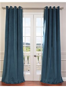 Signature Grommet Blackout Velvet Curtains