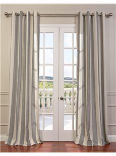 Veranda Linen Blend Grommet Curtains
