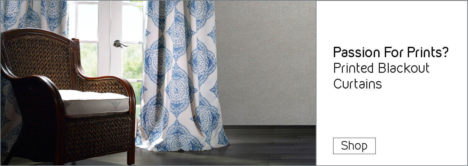 Pattern & Embroidered Curtains