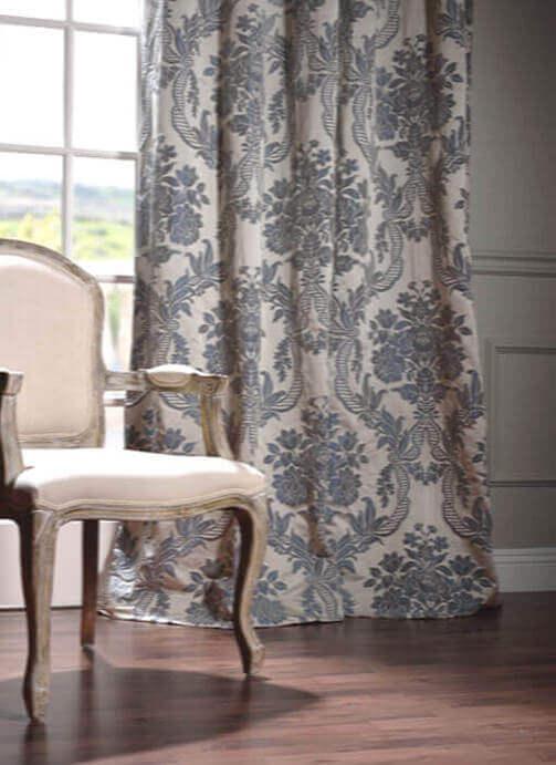 Faux Silk Blackout Curtains