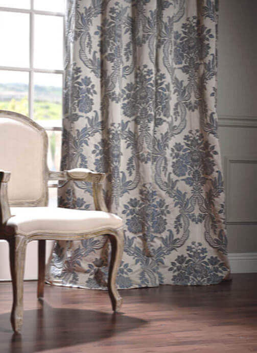 Faux Silk Blackout Curtains