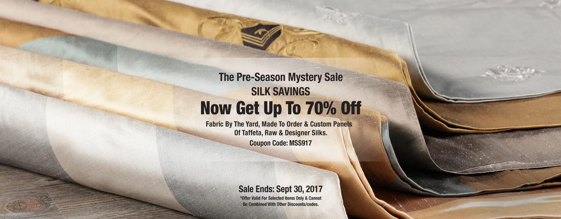 Preseason Silk Sale
