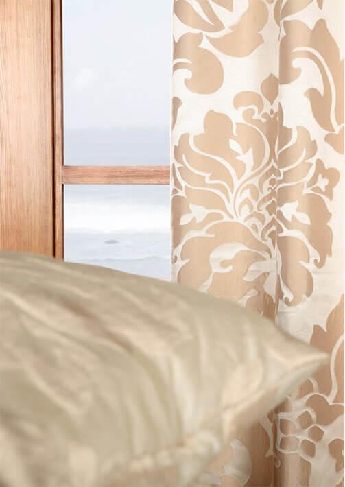 Faux Silk Jacquard Curtains