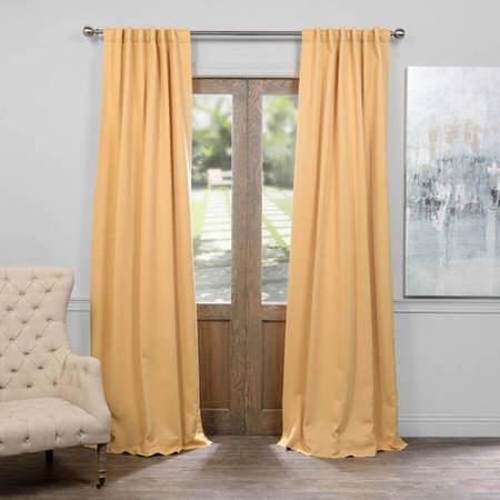 Midsummer Gold Blackout Curtain