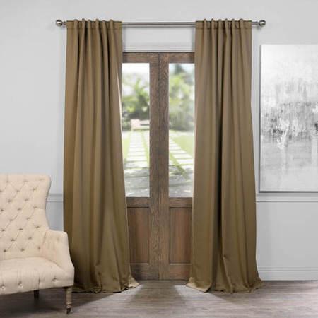 Dark Olive Green Blackout Curtain