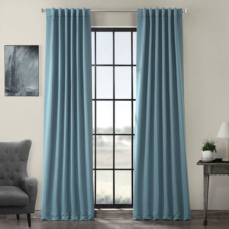 Dragonfly Teal Blackout Curtain