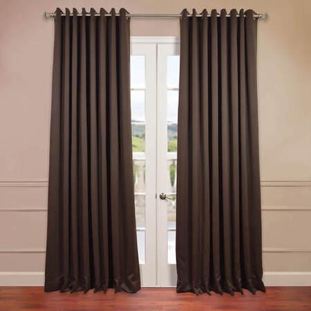 Java Grommet Doublewide Blackout Curtain