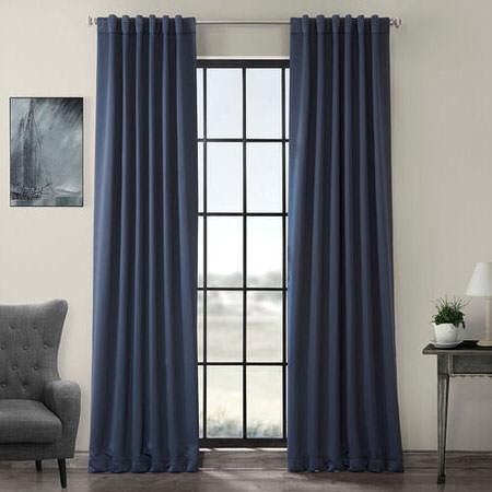 Nocturne Blue Blackout Curtain