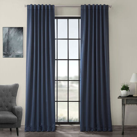 Nocturne Blue Blackout Curtain