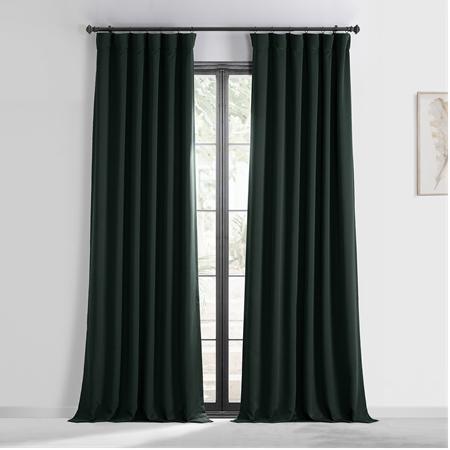 Dark Mallard Green Blackout Curtain