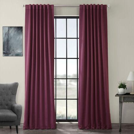 Aubergine Blackout Curtain