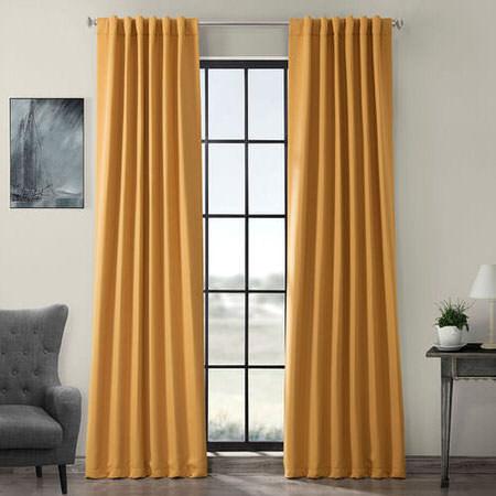 Marigold Blackout Curtain